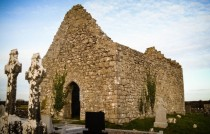 The Moore - a ruined church near my house Galway County Ireland