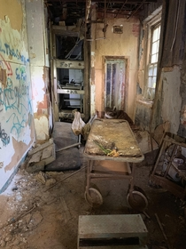 The morgue at Forest Haven Mental Institution in Laurel MD