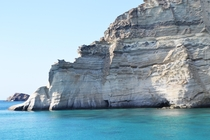 The most amazing place i have ever visited in Greece KleftikoMilos Pirates were hiding there