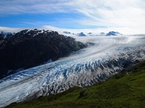 The most beautiful place I have ever been -- Exit Glacier Kenai Fjords National Park AK OC