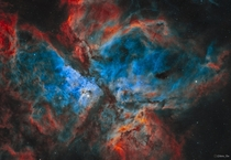 The most detailed image of the great Carina nebula I have taken to date