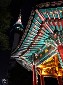 The Most Iconic Landmark in South Korea Namsan Tower