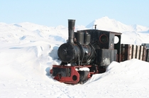 The most northerly abandoned train on Earth - Ny-lesund -  North - I took this photo a few years ago