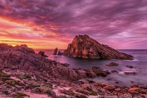 The MOST photographed spot in Western Australias South West Coast Sugarloaf Rock davidashleyphotos OC x