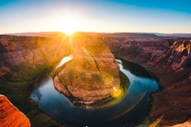 The most photographers Ive ever seen in one place - sunset at Horseshoe Bend