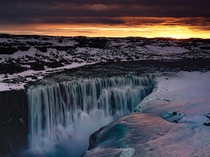 The most powerful waterfall in Europe - Detifoss - Iceland