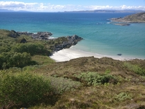 The most tropical place in Scotland The beaches of Morar