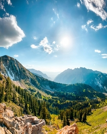 The mountains are my medicine Alta Utah USA  - by hansikiessner