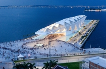 The Museum of Tomorrow is a science museum in the city of Rio de Janeiro Brazil It was designed by Spanish architect Santiago Calatrava and opened in