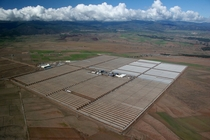The  MW Andasol Solar Power Station a commercial parabolic trough solar thermal power plant