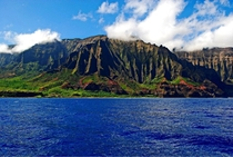The Na Pali coast in Hawaii I took this myself this summer