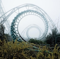 The Nara Dreamland in Japan was abandoned in  as attendance dwindled once Tokyo Disney opened