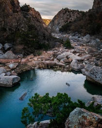 The Narrows in the Wichita Mountains