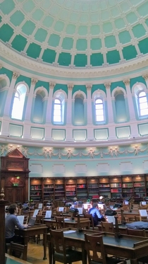 The National Library in Dublin Ireland The picture doesnt do it justice  x  picture taken by me designed by Thomas Newenham Deane