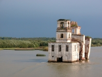 The Nativity Church in Krokhino Russia Abandoned in the s when the level of a nearby lake was raised for boat traffic By smacss on Flickr