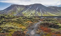 The Natural colors of Icelandic Highlands