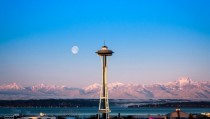The needle and the moon Seattle - x