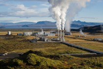 The Nesjavellir Geothermal Power Plant in ingvellir Iceland