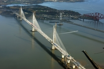 The New Forth Bridge In Construction Feb