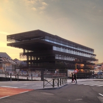 The new public library in Ghent Belgium by RCR ArquitectesCousse amp Goris architecten