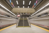 The new th Street NYC Subway station which opened yesterday as part of the new Second Avenue subway expansion