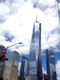 The New World Trade Center in August