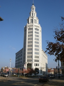 The Niagara Mohawk Building aka The Electric Tower downtown Buffalo NY  x