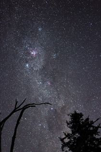 The night sky Silvan Victoria Australia