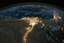 The Nile River from space -  x-post from rpics