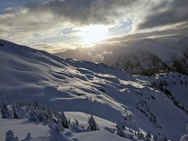 The North Bowl at Shames Mountain Terrace BC