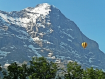 The north face of the Eiger Switzerland