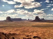 The North Window Monument Valley