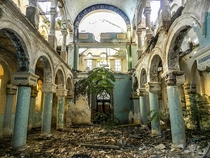 The now-abandoned Great Synagogue of Constanta Romania