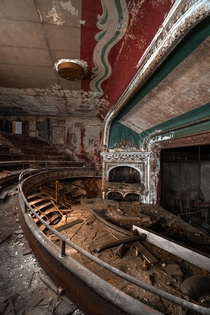 The now demolished Girard Theater Philadelphia PA