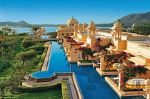 The Oberoi Udaivilas in the capital of the Kingdom of Mewar