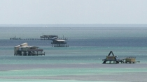 The ocean houses of Stiltsville near Miami