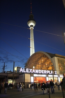 The Old and the New  Alexanderplatz Station and the Fernsehturm Berlin