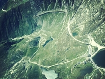 The old and the very old Gotthard Pass Road Both became obsolete when the Tunnel opened in