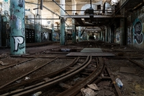 The old assembly line at the Fisher Body Plant