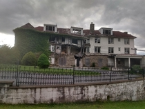 The old hilltop hotel in Harpers Ferry West Virginia