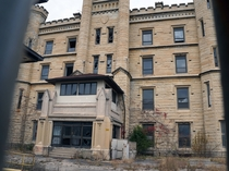 The Old Joliet Prison Main Entrance Joliet Illinois