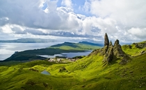 The Old Man Of Storr in the Isle Of Skye Scotland Photo by Unai Carrera