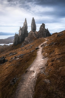 The Old Man of Storr Isle of Skye Scotland