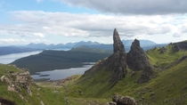 The Old Man of Storr Isle of Skye Scotland - captured Summer