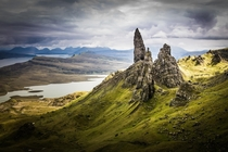 The Old Man of Storr Isle of Skye Scotland - photo by Petr Jank