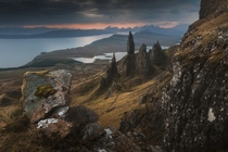The Old Man of Storr Isle of Skye Scotland photographed by Daniel Korzhonov