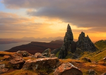 The Old Man of Storr on the Isle of Skye  by Mark Murdie