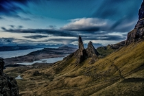 The Old Man of Storr Tote Scotland UK by Graham Bradshaw