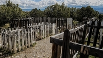 The old Mercur cemetery