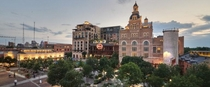 The old Pearl Brewery San Antonio Texas Repurposed today as a mixed use complex